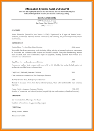 Resume 28 Electrician Resume Cover Letter Professional Electrician