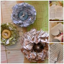 Paper Flower Business How To Make A Paper Flower From Newspapers Red Ted Arts Blog