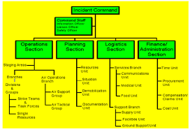 Incident Command Structure Flow Chart Nims Ics For Field Day Planning Eastern Massachusetts Arrl