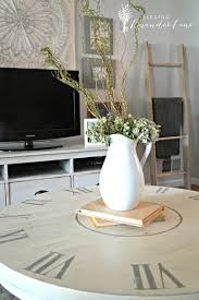 coffee tables marvellous white round shabi chic wood clock coffee table design ideas full hd