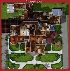 winchester mystery house floor plan.  House Mod The Sims  Winchester Mystery House In Floor Plan T