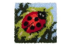 ladybird latch hook rug kit
