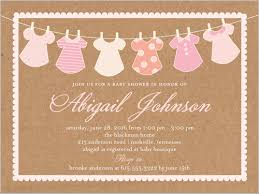 Clothes Line Girl 4x5 Baby Shower Invitation Cards Shutterfly