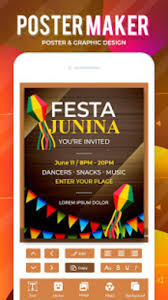 Design Flyers On Android Flyers Posters Banner Graphic Maker Designs For Android