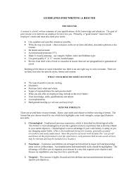 ... Resume Guidelines 2 Amazing Resume Guidelines Dazzling Job Regarding  For Writing ...