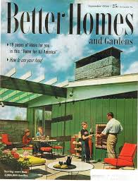 Small Picture Better Homes and Garden cover September 1954 home plans