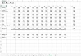 Free Excel Cash Book Template