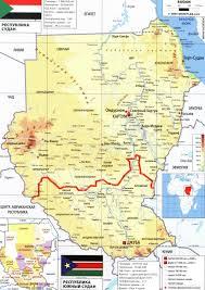 Судан карта на русском языке, описание страны, Судан на карте мира - Карта  мира