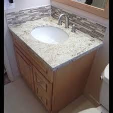 How to install a vanity Hang How To Install Vanitygranite Topstone Glass Backsplashamp Schluter Regarding Elegant Install Thisismammingcom Sink Elegant Install Bathroom Vanity Sink Applied To Your Home