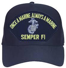 Once A Marine Always A Marine Once A Marine Always A Marine Semper Fi With Ega Ball Cap