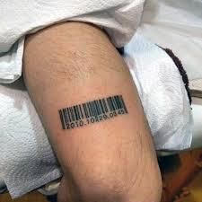 30 čárových Kódů Tetování Vzory Pro Muže Paralelní Inkoust Nápady