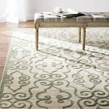 wonderful robicheaux creamlight green area rug reviews birch lane throughout cream colored area rugs attractive home living room