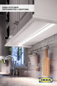 Ikea kitchen lighting Modern Latenight Snacking Just Got Easier With Integrated Kitchen Lighting The Ikea Urshult Lamp Provides Small Focused Beam Of Light So You Can Spend Time Pinterest Latenight Snacking Just Got Easier With Integrated Kitchen Lighting