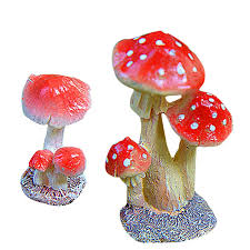 2019 Promotion! Miniature Fairy Garden <b>Mushroom</b> Ornament ...