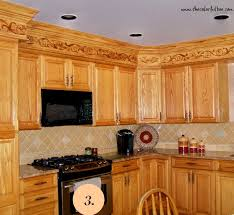Decorations On Top Of Kitchen Cabinets Enchanting Decorating A Kitchen Soffit Review Of 48 Ideas In 48