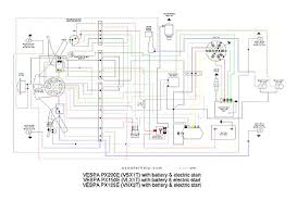 scooter help px200e (vsxit) vespa px wiring diagram at No Battery Wiring Diagram