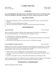 Resume Examples For Temp Jobs Your Prospex