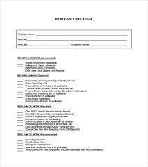 Sample Orientation Checklist For New Employee 29 Images Of New Hire Orientation Checklist Template Leseriail Com