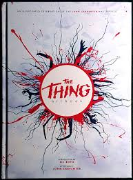 it was just over a year ago that i was asked to contribute to the thing artbook and the thing itself so to speak turned up in the post a few days