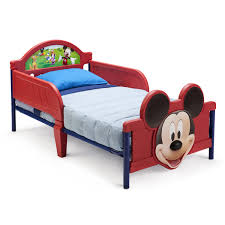 Mickey Mouse Bedroom Furniture Delta Children Disney Mickey Mouse 3d Convertible Toddler Bed