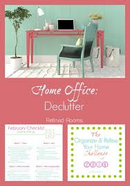 organizing home office. decluttering your home office organizing