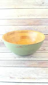 large wooden bowls decorative wood decorative bowl green wooden bowl wood bowl wood decorative bowl green