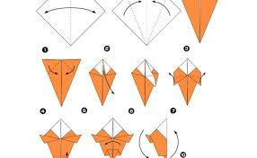 Salah satu cara belajar teknik origami adalah dengan melihat cara atau bentuk bentuk origami. Cara Membuat Origami Burung Elang Yang Mudah Cute766
