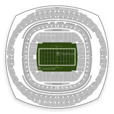 New Orleans Saints Seating Chart Map Seatgeek