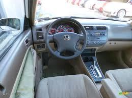 2003 Honda Civic EX Sedan Interior Color Photos | GTCarLot.com