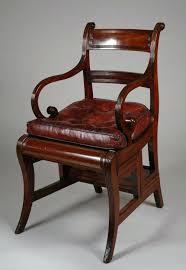 regency metamorphic library chair antiques antique metamorphic library chair steps gany leather regency library furniture for library chairs