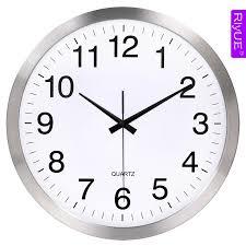 wall clocks for office. Riyue16-inch Large Living Room Clock Wall Clock Office Classroom  Simple Quartz Hotel Clocks For K