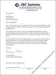Job Proposal Letter Extraordinary A Job Offer Letter Format Business