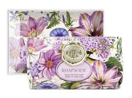 <b>michel design works rhapsody</b> - purple flowers hostess gifts ...