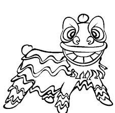 Small Picture Lion Dance Free Chinese New Year Coloring Pages New Year