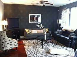 zebra grey shaped rug best living room makeover ideas cool image of makeovers decoration using grey white