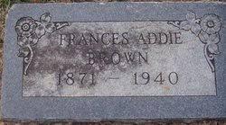 Frances Addie Rutledge Brown (1871-1940) - Find A Grave Memorial