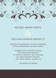 Resume Template 2019 Wedding Reception Invitation Templates