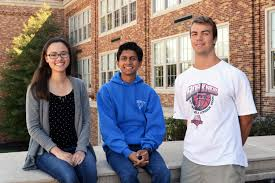 daily announcements page of kcsd seniors from left julie bates saarang karandikar and john libert were among approximately 1 5 million juniors who entered the 2016 national merit