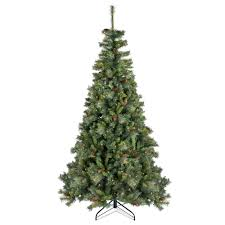 7ft 6In Creston Pre Lit LED Christmas Tree | Departments | DIY at B&Q