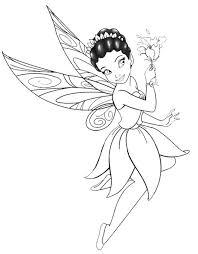 Disegno La Fatina Dei Fiori Disegni Da Colorare E Stampare Gratis