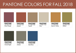 Pantone Color Chart 2018 Image Result For Fall 2018 Pantone Pantone Color Chart
