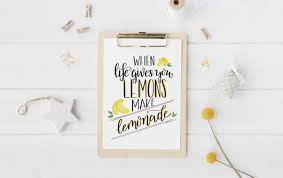 how to hand letter hand lettered lemonade printable learn how to hand letter