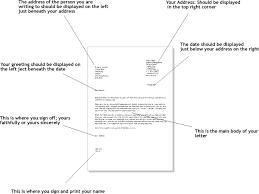 Proper Letter Format 2016 formal letter writing example