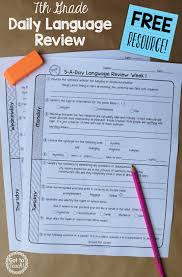 a daily language review for th grade review important a daily language review for 7th grade review important grammar and vocabulary skills each