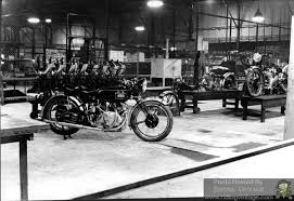 riding vine the vincent motorcycle factory at stevenage in the late 1940 s