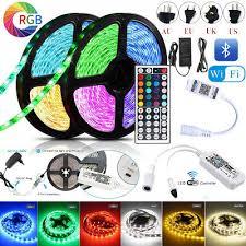 5-<b>20M 5050 RGB</b> WiFi Remote <b>LED</b> Strip Lights Bluetooth Controller ...