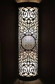 oriental lighting. Oriental Brass Wall Lamp Light Ecbel - XXL 111cm Lighting