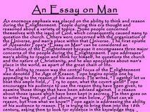 essay on man alexander pope summary non verbal communication essay on man alexander pope summary
