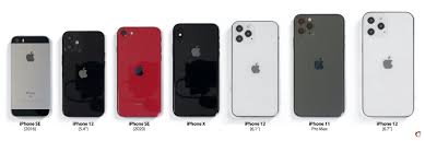 เปรียบเทียบขนาดตัวเครื่องระหว่าง iPhone 12 กับ iPhone SE, 7, 8, SE 2020, X,  11 Pro ใหญ่ขึ้น-เล็กลงแค่ไหน มาชมกัน !!