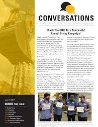 HOLT Conversations - Issue IV - 2019 Pages 1 - 16 - Text Version | AnyFlip